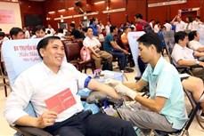 """""""红色星期日""""献血活动在全国各省市举行"""
