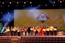 Bế mạc Lễ hội văn hóa thổ cẩm Việt Nam lần thứ nhất