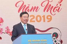 越南外交部举行2019年新春新闻媒体见面会