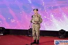 """越南维和局举办""""和平之鸟""""交流会"""