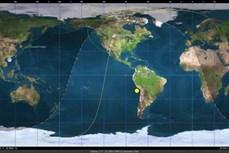 """越南""""微龙"""" 卫星首次传回实验照片"""