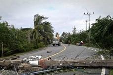 """台风""""帕布""""登录泰国 至少5人死亡"""