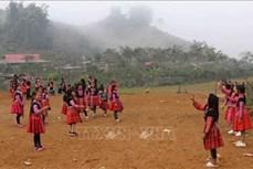 Đồng bào Mông ở Sơn La đón Tết