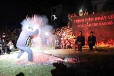 Lễ hội nhảy lửa của người Dao Đỏ ở Na Hang