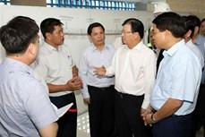 政府副总理郑廷勇:立即完善相关手续 将吉灵—河东城铁投入运营