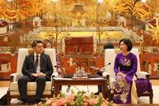 河内进一步加强与日本福冈县的合作关系