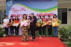 Tiền Giang hỗ trợ phụ nữ khởi nghiệp