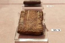 Iran trưng bày 300 phiến đất sét cổ được Mỹ trao trả
