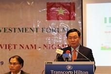 政府副总理王廷惠对尼日利亚进行工作访问