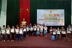 Đoàn công tác Trung ương Hội Khuyến học Việt Nam làm việc tại tỉnh Bắc Kạn