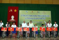 Chung tay hỗ trợ học sinh nghèo hiếu học vùng khó khăn