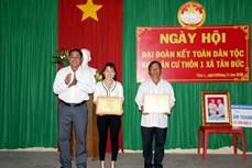 Ấm áp Ngày hội Đại đoàn kết toàn dân tộc tại Bình Thuận