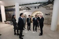 河内市代表团对以色列与英国进行工作访问