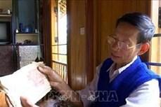 Thầy giáo, Nghệ nhân Ưu tú Hà Nam Ninh dành trọn cuộc đời gìn giữ, trao truyền chữ Thái cổ