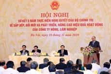Thủ tướng Nguyễn Xuân Phúc: Đất đai cần được giao cho chủ thể trực tiếp quản lý, sử dụng có hiệu quả