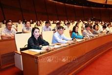 Kỳ họp thứ 8, Quốc hội khóa XIV:
