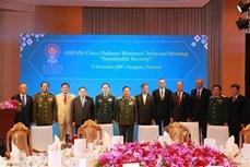 东盟与伙伴国加强防务合作
