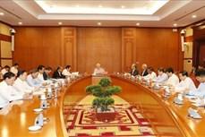 越共中央总书记、国家主席阮富仲主持召开中央反腐败指导委员会会议