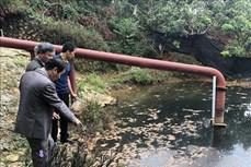 Hơn 2.000 hộ dân ở huyện Mai Sơn bị ảnh hưởng bởi nguồn nước ô nhiễm