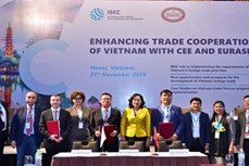 越南和中东欧与亚欧地区国家加强贸易合作关系
