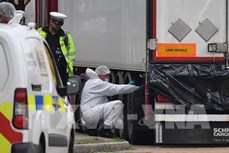 英国39人死亡案:越英密切配合 及时处理善后事宜