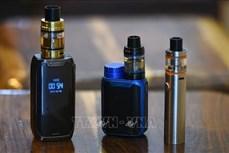 """Thêm """"điểm trừ"""" của thuốc lá điện tử sử dụng tinh dầu"""