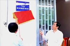 Trao nhà Đại đoàn kết, tạo động lực giúp các hộ nghèo vươn lên