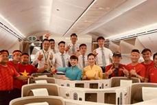 第30届东运会: 越航安排波音787-10专机接体育健儿回国
