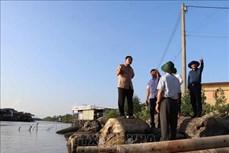 Cà Mau: Trên 100km bờ sông, bờ biển bị sạt lở ở mức nguy hiểm