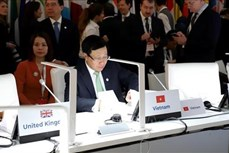 越南建议ASEM继续发挥其在促进多边合作和维护基于规则的全球秩序中的作用