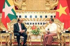 关于巩固越南-缅甸全面合作伙伴关系的联合声明