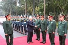 英雄的越南人民军建军75年:在党的光辉旗帜下稳步前进