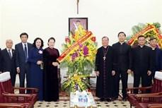 阮氏金银:河内总教区对国家建设和发展事业做出了积极的贡献