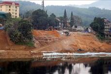 Đầu tư 90 tỷ đồng xây kè bảo vệ vùng hạ lưu Nhà máy thủy điện Tuyên Quang