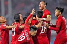 越南国足被列入世界前12支表现最令人惊讶的国家队
