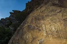 Phát hiện những bức tranh hiếm thấy khắc trên đá tại Tây Bắc Trung Quốc
