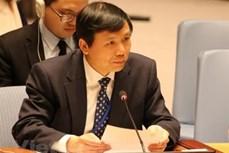 越南代表出席联合国经社理事会第57次会议