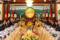 越老联合声明:两国永远在民族独立和社会主义道路上携手前行