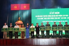 Thành phố Hồ Chí Minh kỷ niệm 60 năm Ngày truyền thống Bộ đội Biên phòng Việt Nam và 30 năm Ngày Biên phòng toàn dân
