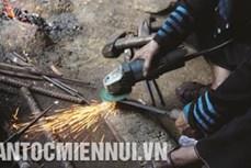Nghề rèn của người Mông ở Trạm Tấu
