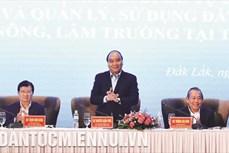 """Thủ tướng Nguyễn Xuân Phúc: """"Phấn đấu đến năm 2025 cơ bản không còn tình trạng dân di cư tự do…"""""""