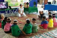Tăng cường tiếng Việt cho trẻ em vùng dân tộc thiểu số huyện Quỳnh Nhai