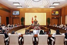国会副主席冯国显会见美国-东盟商务委员会代表团