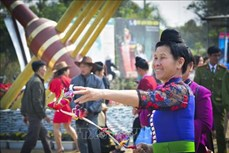 Nhiều hoạt động đậm bản sắc dân tộc Tây Bắc trong Lễ hội Hoa Ban năm 2019 tại Điện Biên