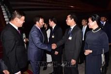 文莱达鲁萨兰国苏丹哈吉·哈桑纳尔·博尔基亚开始对越南进行国事访问
