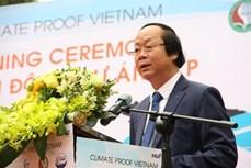 """""""越南气候—教育合作努力实现平原地区可持续变革""""项目正式启动"""