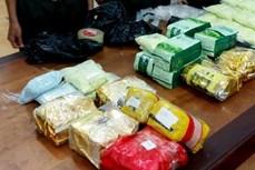 安江省:现场抓获贩运毒品犯罪嫌疑人2名 缴获26多公斤毒品