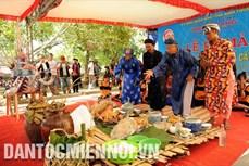 Tái hiện Lễ bỏ mả của đồng bào dân tộc Raglai