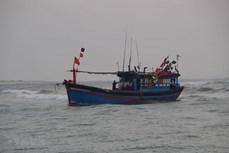 海上遇险的载有22名渔民的3艘渔船获救