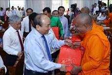 越南政府总理阮春福出席高棉族2019传统新年见面会